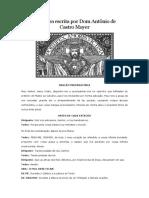 Via Sacra escrita por Dom Antônio de Castro - Adaptado por Darlan Marcelo Maria
