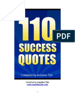 110 Success Quotes