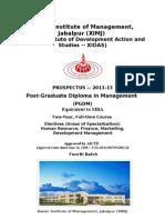 Pgdm Prospectus 2011 13