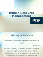 Job Analysis