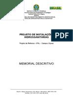 Memorial descritivo hidrossanitário - Viçosa.doc