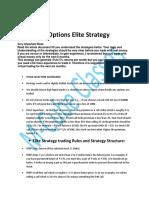 Options Elite Strategy