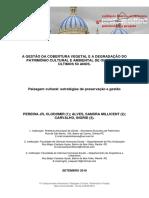 Importância da Cobertura Vegetal na Preservação do Patrimonio Cultural