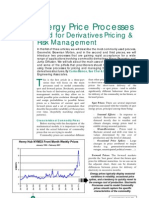 A Energy Price Processes