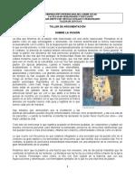 TALLER DE ARGUMENTACIÓN