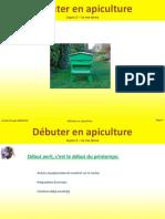 DEBLOCK A. C.- Débuter en apiculture- Leçon 2, je me lance