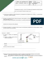 Devoir de Synthèse N°2  -Sciences physiques   -1ère AS (2013-2014)Mr Foued Bahlous