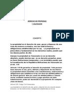 DERECHO DE PROPIEDAD  Y OCUPACIÓN
