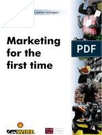 Marketing for the First Time