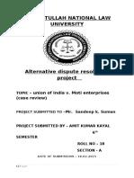 343104330-Alternative-Dispute-Resolution-Project.docx