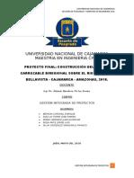 GESTION DE PROYECTOS (PMI)