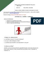 ACTIVIDAD No. 1   LIDERES Y LIDERAZGO  GRADO 1O.docx