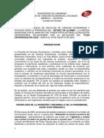 FACES - INFORME CONSEJO DE FACULTAD