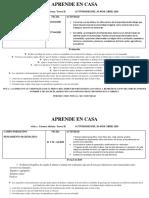 APRENDE EN CASA 20 AL 30 DE ABRIL MTRA CARMEN ADRIANA 2°B