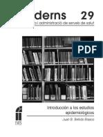 Bellido Blasco JB (2016). Introduccion a los estudios epidemiológicos