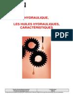 478 S - huiles hyd - Caractéristiques