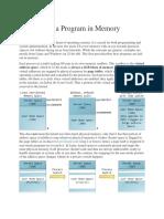 Anatomy of a Program in Memory