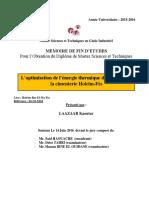 L'optimisation de l'energie th - LAAZAAR Kaoutar_3603.pdf