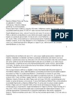 Bazilica Sfântul Petru din Roma (1) (Autosaved).odt