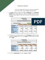 Caso Práctico 2 Sistena de costo por actividad