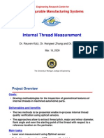 Internal Thread Measurement