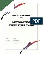 Steel Fuel Tank Project Profile