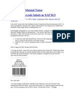 MM - SAP Printing barcode labels in SAP