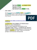 TRANSGENICOS PERU