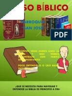 CLASE I INTRODUCCIÓN AL CURSO BIBLIA