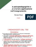 Le principali teorie psico-pedagogiche 700 800