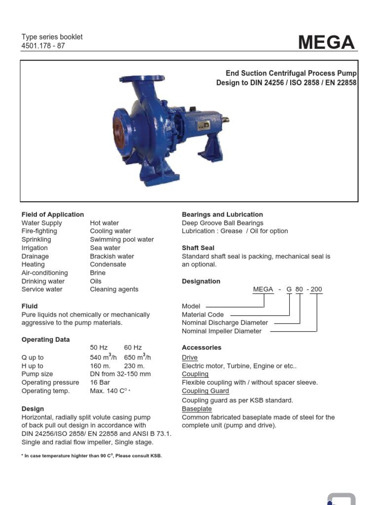 Mega Catalogue Pump