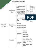 Cuadro Sinoptico - normas internacionales de auditorias