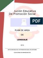PLAN DE AREA DE LENGUAJE 2019 (1).docx