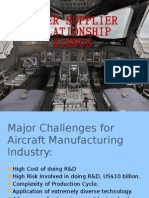 Buyer Supplier Relationship; Case Study 'AIRBUS A380'.
