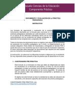 INSTRUCTIVO PARA EL DILIGENCIAMIENTO DE  FORMATOS DE SEGUIMIENTO Y EVALUACIÓN DE LA PRÁCTICA PEDAGÓGICA