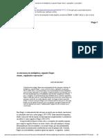 As estruturas da inteligência, segundo Piaget_ ritmos,. regulações e operaçães_