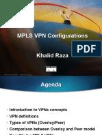 MPLS VPN Configurations