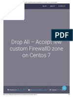 Drop All - Accept few custom FirewallD zone on Centos 7 _ Alexander Molochko