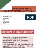 Environmental and organizational appraisal.pptx