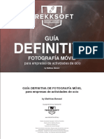 Guía definitiva de fotografía móvil para empresas de actividades