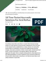 GERD Ayurvedic Medicines