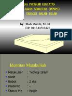 Kuliah Teologi Islam Awal