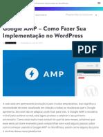 Google AMP – Como Fazer Sua Implementação no WordPress
