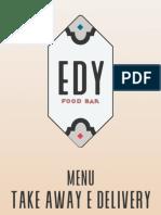 EDY Menu