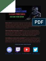Rainlyte EFT Guide 2020 Dark