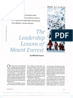 The Leadership Lessons of Mount Everest