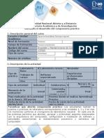 Guía para el desarrollo del componente práctico - Tarea 4 - Laboratorios 1, 2 y 3 (Componente Práctico InSitu).docx