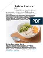 Dieta de Budwig