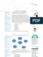 Approaches for measuring performance of employees _ Knowledge Tank