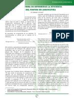 Una nueva forma de determinar la eficiencia de uso del fósforo en agricultura